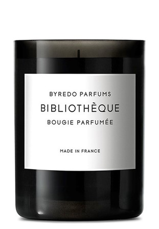 Byredo fragranced candle bibliotheque