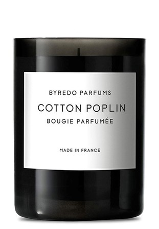Byredo fragranced candle cotton poplin
