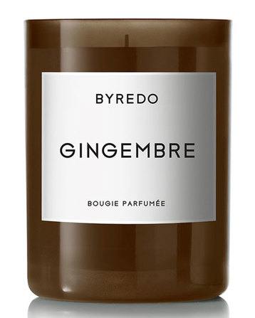 Byredo fragranced candle gingembre