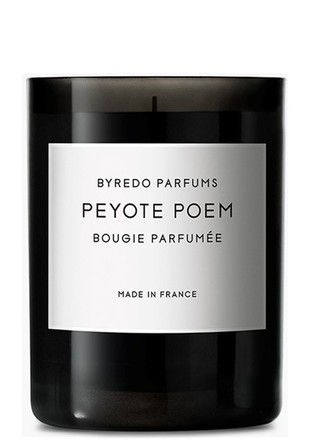 Byredo fragranced candle peyote poem