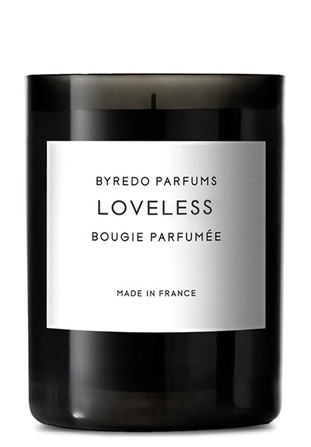 Byredo fragranced candles loveless